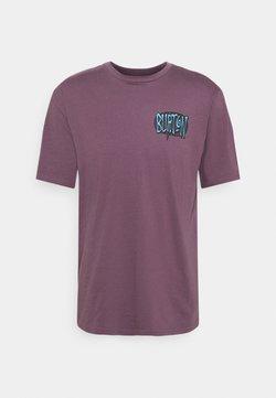 Burton - CROSSHILL TEE  - T-shirt con stampa - dusk purple
