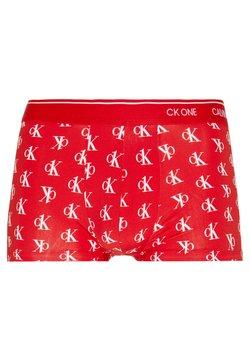 Calvin Klein Underwear - LOW RISE TRUNK - Shorty - red