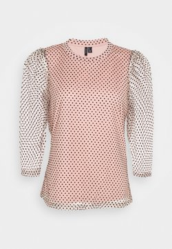 Vero Moda Petite - VMJUANA TOP PETITE - Bluse - misty rose/black
