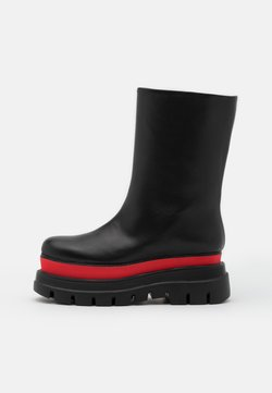 MSGM - STIVALE DONNA WOMAN`S BOOT - Plateaustiefel - red