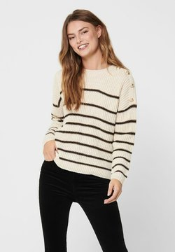 ONLY - Strickpullover - pumice stone