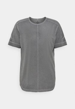 Nike Performance - YOGA - T-Shirt print - anthracite/gray