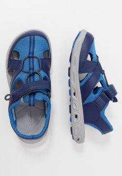 Columbia - YOUTH TECHSUN WAVE - Walking sandals - cousteau/deep yellow