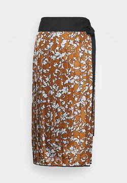 Tory Burch - PRINTED PLEATED SKIRT - Bleistiftrock - multi-coloured