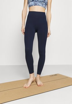 Cotton On Body - LIFESTYLE SEAMLESS 7/8 YOGA  - Tights - navy