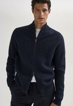 Massimo Dutti - Vest - dark blue