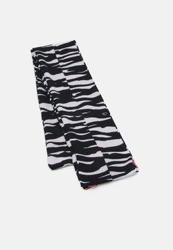 Calvin Klein - SCARF  - Sciarpa - white/black/pink