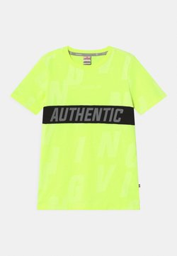Vingino - HECELLO - Camiseta estampada - neon yellow