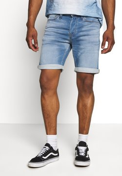 Jack & Jones - JJIRICK JJICON - Jeansshort - blue denim