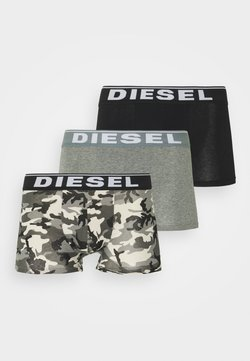 Diesel - DAMIEN 3 PACK - Panties - grey/black