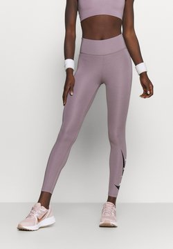 Nike Performance - RUN  - Tights - purple smoke/silver