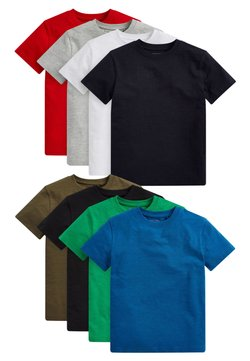 Next - 8 PACK  - T-shirt con stampa - multi-coloured