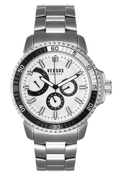Versus Versace - ABERDEEN EXTENSION - Montre - silver-coloured/white