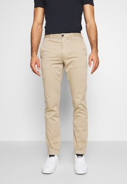 Tommy Hilfiger - CORE STRAIGHT FLEX - Chinot - khaki