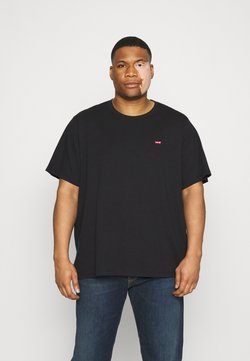 Levi's® Plus - BIG ORIGINAL - T-shirt basique - mineral black