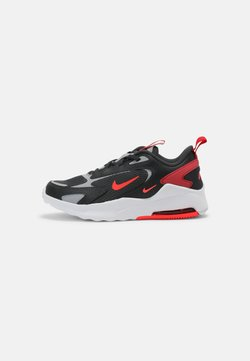 Nike Sportswear - AIR MAX BOLT UNISEX - Sneakersy niskie - dark smoke grey/bright crimson/university red/light smoke grey