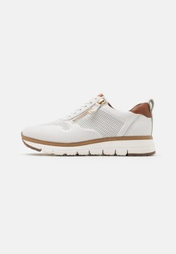Tamaris Pure Relax - LACE UP - Sneakers laag - white/cognac