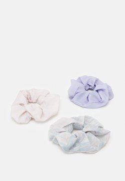Weekday - SCRUNCHIE 3 PACK - Haar-Styling-Accessoires - purple marble