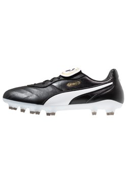 Puma - KING TOP FG - Chaussures de foot à crampons - black/white