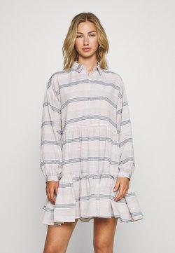 ONLY - ONLMILA SHORT DRESS - Skjortekjole - pumice stone/dark denim