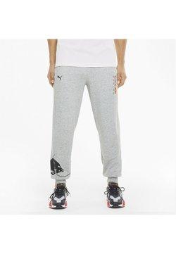 Puma - Jogginghose - light gray heather