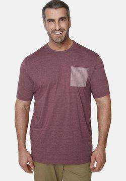 Charles Colby - EARL MABON - T-Shirt print - dark red
