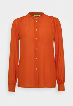 Rich & Royal - BLOUSE WITH GATHERING DETAIL - Camicia - rusty red