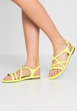 Tamaris - Sandales - yellow neon