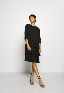 Moss Copenhagen - VERONA DRESS - Freizeitkleid - black