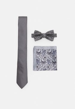 Burton Menswear London - SET - Krawatte - grey
