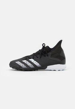 adidas Performance - PREDATOR FREAK .3 TF - Botas de fútbol multitacos - core black/footwear white