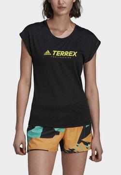 adidas Performance - TERREX  - Printtipaita - black
