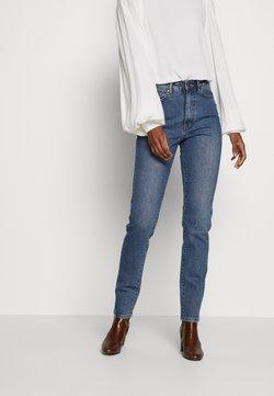 Object Tall - HANNAH  - Jeans slim fit - medium blue denim