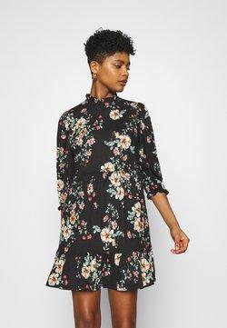 ONLY - ONLZILLE NAYA HIGHNECK DRESS  - Freizeitkleid - black