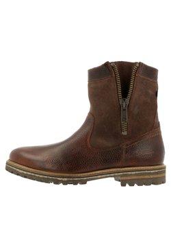 Gaastra - ANKLE BOOT/BOOTIE CASTOR HGH TMB - Cowboy-/Bikerstiefelette - brown