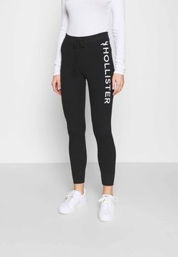 Hollister Co. - TIMELESS LOGO - Jogginghose - black
