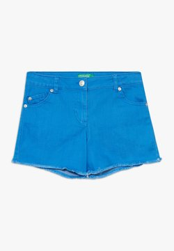 Benetton - Jeansshort - blue