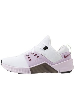 Nike Performance - FREE METCON 2 - Löparskor - white/noble red/iced lilac/black/pistachio frost