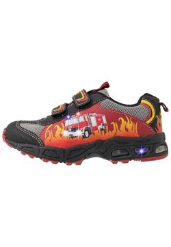 LICO - HOT - Trainers - rot/schwarz/gelb