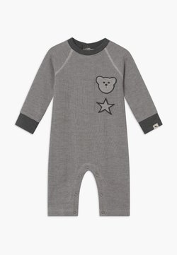 Turtledove - BADGED COSY PLAYSUIT BABY - Combinaison - grey