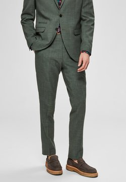 Selected Homme - SELECTED HOMME ANZUGHOSE SLIM FIT - Puvunhousut - shadow