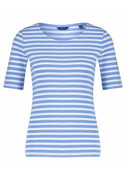 GANT - GANT DAMEN SHIRT KURZARM - T-Shirt print - blau