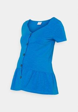 MAMALICIOUS - NURSING - T-shirt imprimé - blue aster