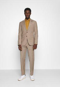 Tommy Hilfiger Tailored - SLIM FIT SUIT - Anzug - beige