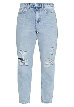 Miss Selfridge - RIPPED MOM - Relaxed fit jeans - blue
