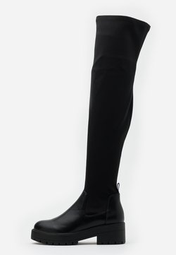 ONLY SHOES - ONLBRANKA LONG SHAFT BOOT  - Cuissardes - black