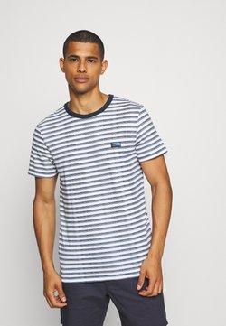 Jack & Jones - JCOCORON TEE CREW NECK - T-Shirt print - white