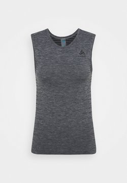 ODLO - PERFORMANCE LIGHT CREW NECK SINGLET - Top - grey melange