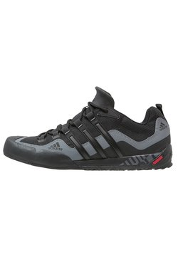 adidas Performance - TERREX SWIFT SOLO - Climbing shoes - black/lead