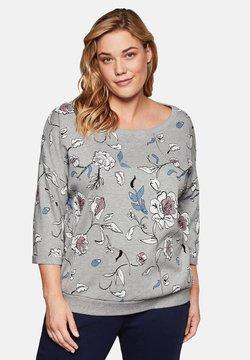 Sheego - Sweatshirt - grey